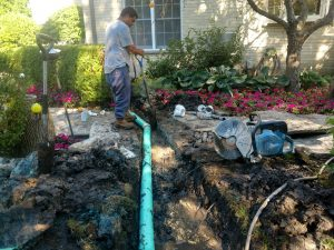 Drainage Pipe Installed in Northbrook IL