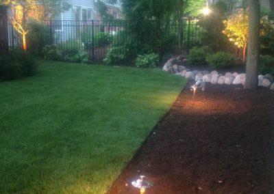 Landscape Lighting installed in Arlington Heights