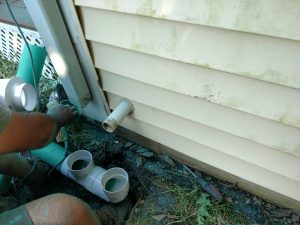 drainage pipe hookup naperville